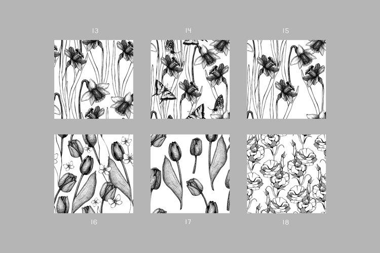 Floral Patterns Bundle example 2