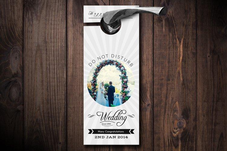 Wedding Door Hangers example image 1