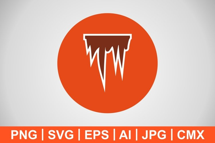 Vector Icicle Icon example image 1