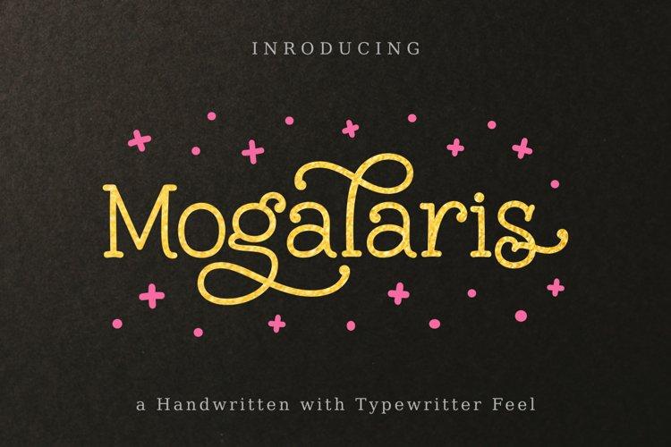 Mogalaris | Handwritten Font example image 1