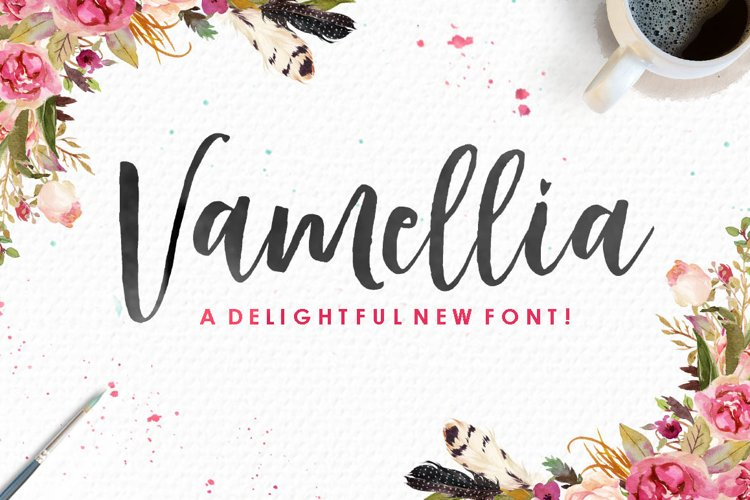 Vamellia Script example image 1