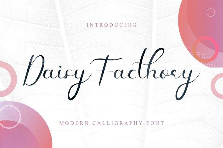 Daisy Facthory example image 1