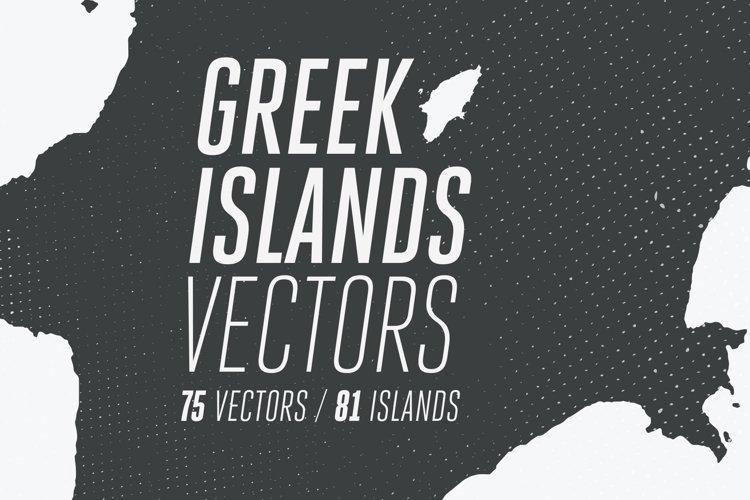 81 Greek Islands Vectors