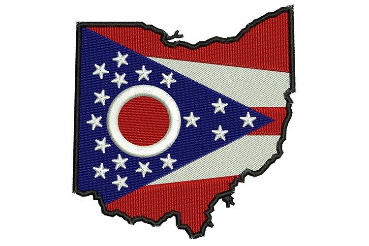 Ohio State machine embroidery designs
