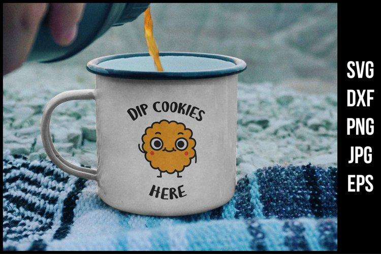 Download Dip Cookies Here Cute Svg Cut File 1094856 Illustrations Design Bundles