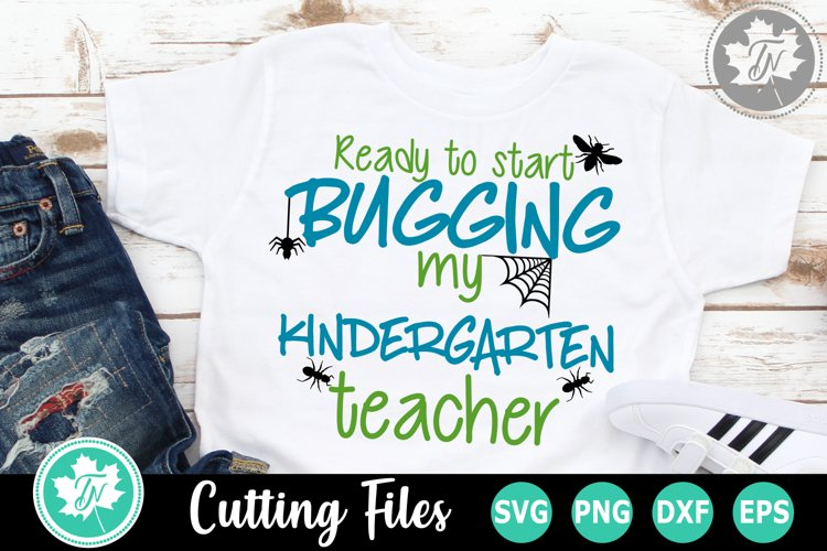 Back to School SVG | First Day of School SVG | Kindergarten example image 1