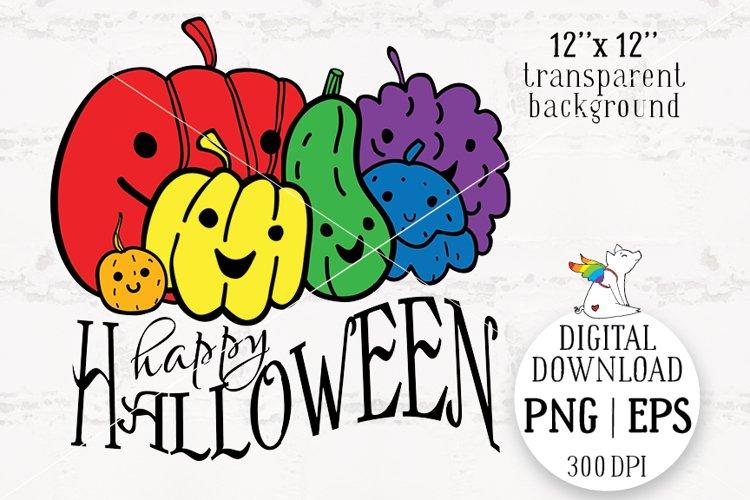 Happy Halloween, Halloween lgbt, Pumpkin Lgbt example image 1