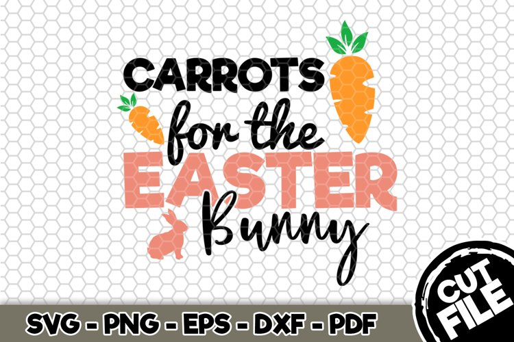 Carrots For The Easter Bunny - SVG Cut File n182 example image 1