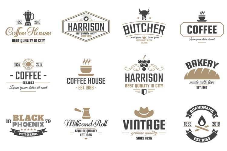 42  Vintage Logo Set example 4
