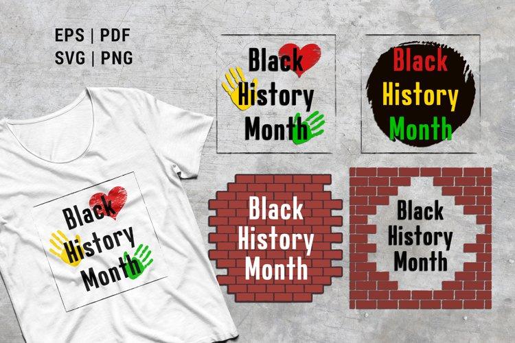 Black history month matter sublimation tshirt designs | SVG example image 1