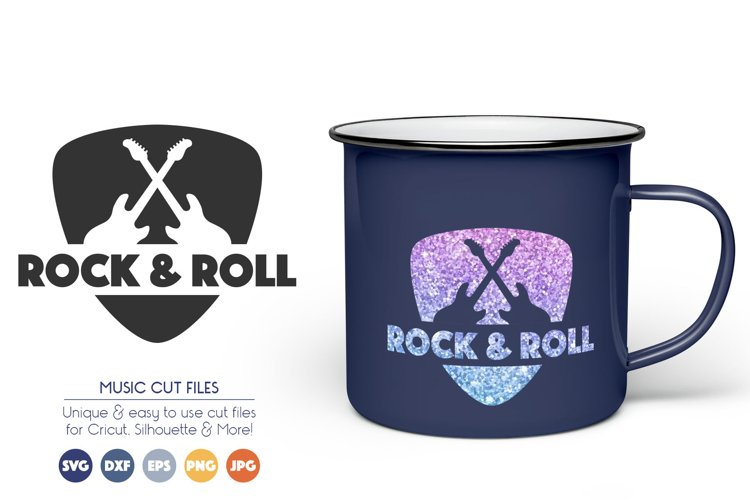 Guitar SVG Cut Files - Rock   Roll