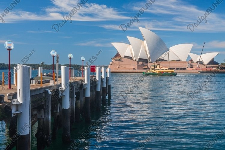 The Sydney Opera House. Viewed from the Rocks. Sydney. example image 1