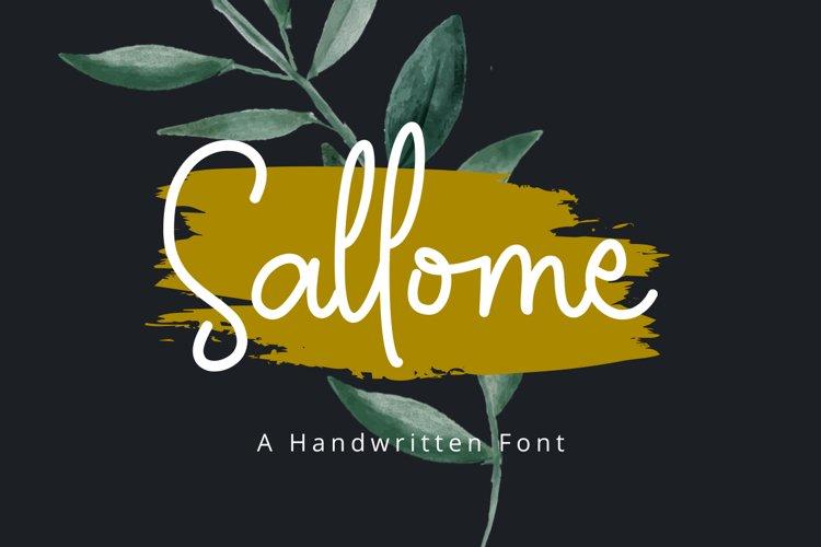 Sallome example image 1