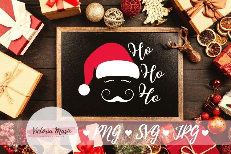 Ho Ho Ho svg, Santa Clause svg, Christmas Ornament svg