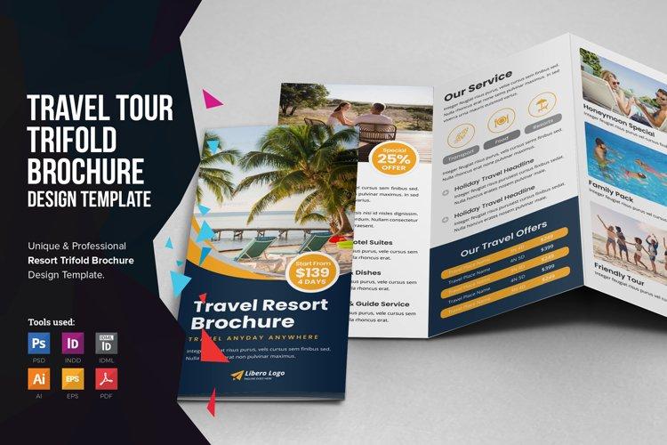 Travel Resort Trifold Brochure v2