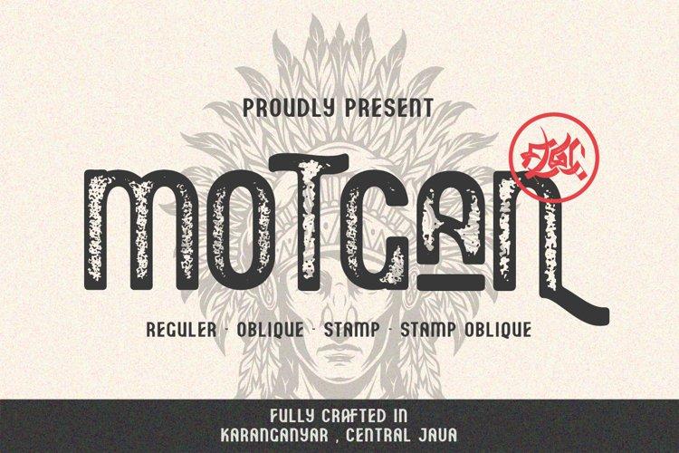 Motgan - Vintage Font example image 1