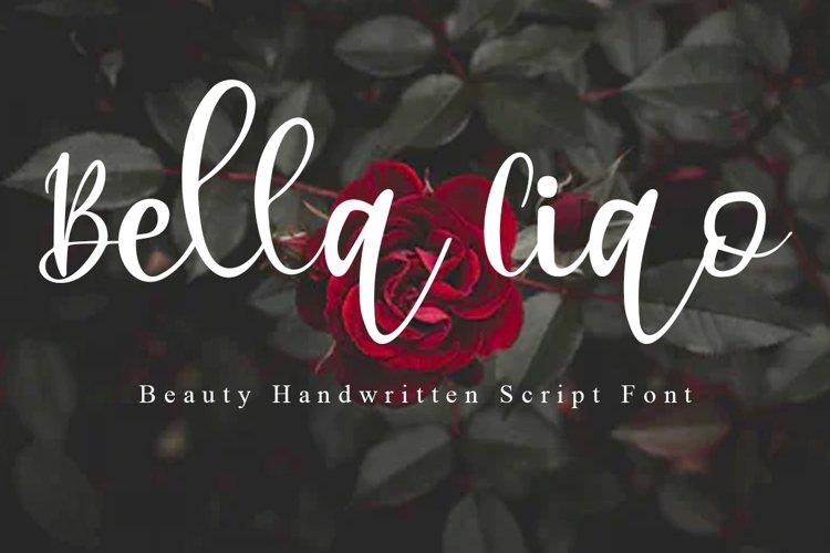 Bella Ciao Beauty Handwritten Script Font example image 1