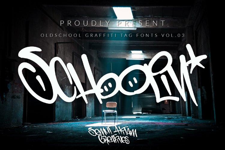 Schoolin - Graffiti Fonts