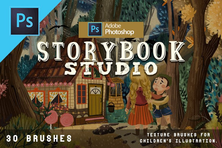 Storybook studio Photoshop