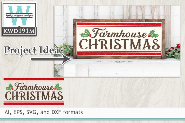 Christmas SVG - Farmhouse Christmas