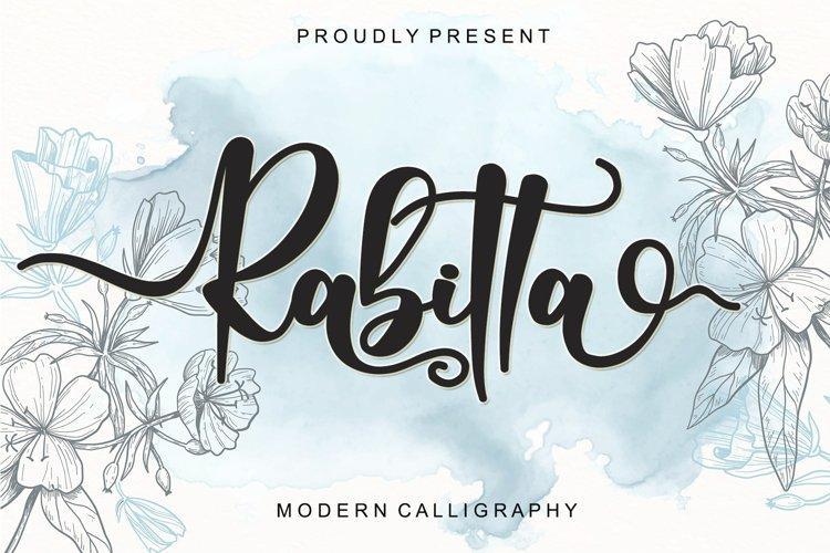 Rabitta - Modern Calligraphy example image 1