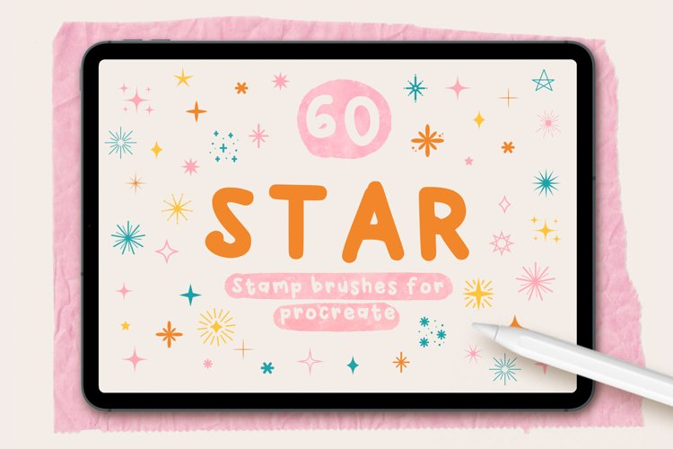 60 STAR STAMPS FOR PROCREATE