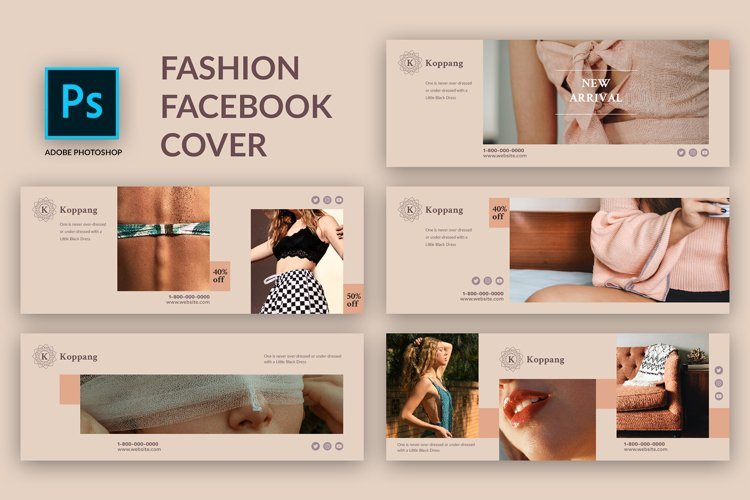 Fashion Facebook Cover example image 1