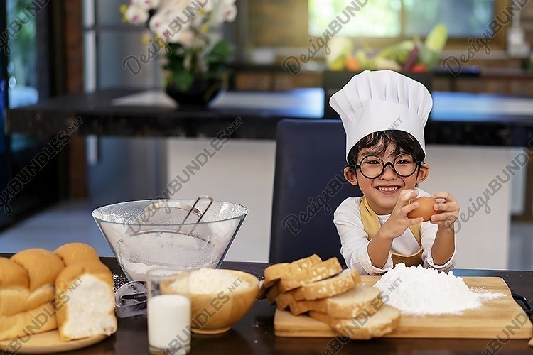 Boy cooking example image 1