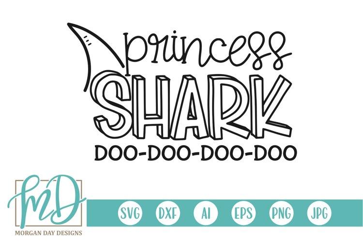 Family Shark - Doo Doo - Birthday - Princess Shark SVG