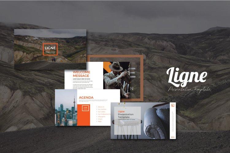 Ligne Presentation Templates example image 1