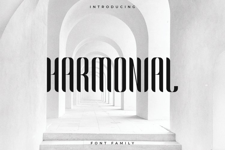 Harmonial Font Family - Sans Serif example image 1