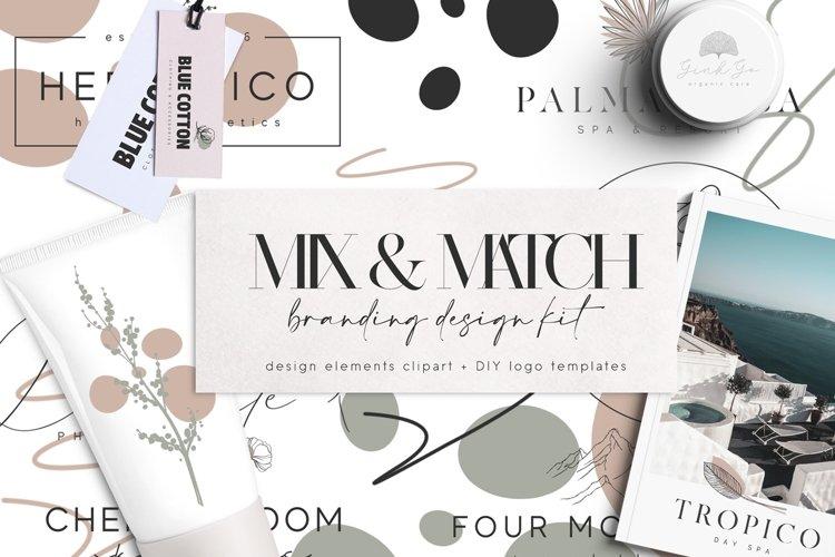 Logo Templates Package - Branding Design Kit