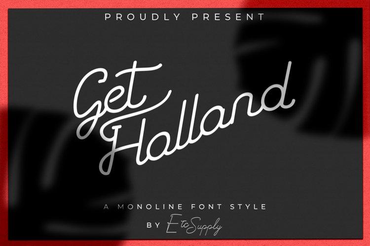 GetHolland With Retro Style example image 1