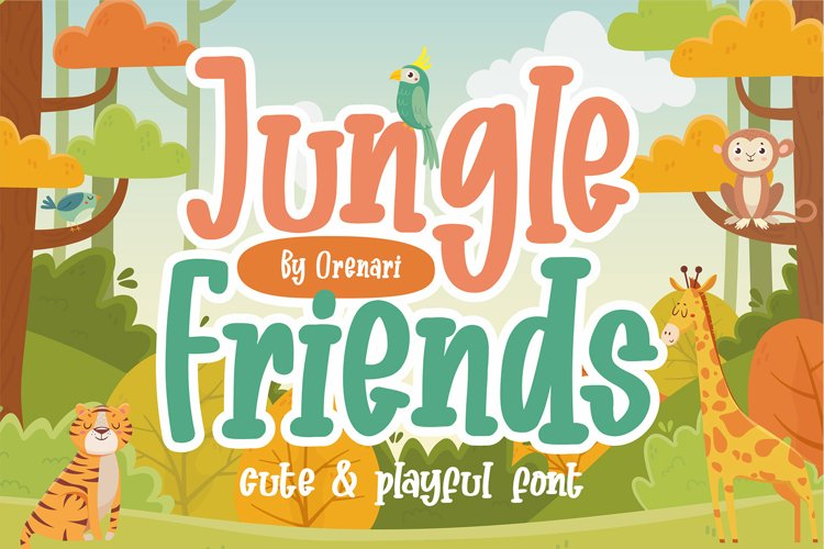 Jungle Friends example image 1