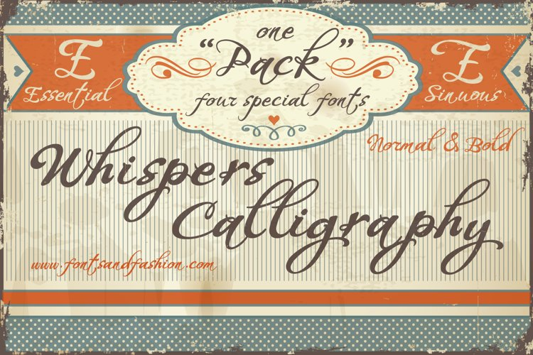 Whispers Calligraphy_Pack example image 1