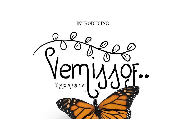 Vemissof Font example image 1