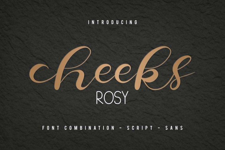 Cheeks Rosy example image 1