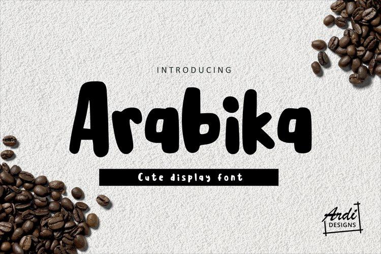 Arabika Font