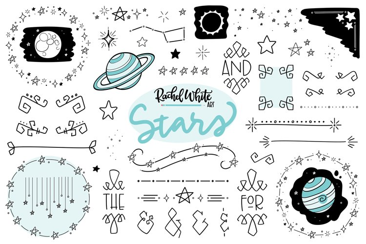 Stars, Vector, PNG, SVG