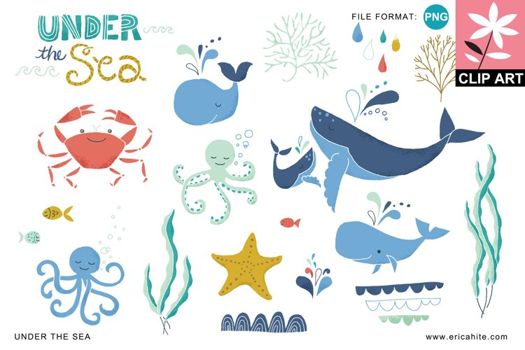 Under the Sea Clip Art PNG