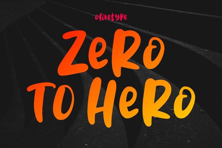 Zero To Hero example image 1