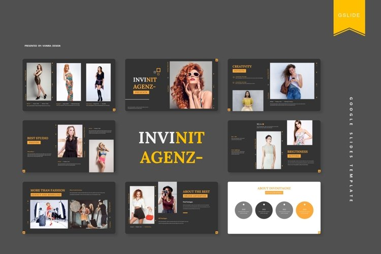 Invinitagenz | Google Slides Template example image 1