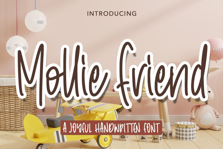 Mollie Friend - Joyful handwritten Font