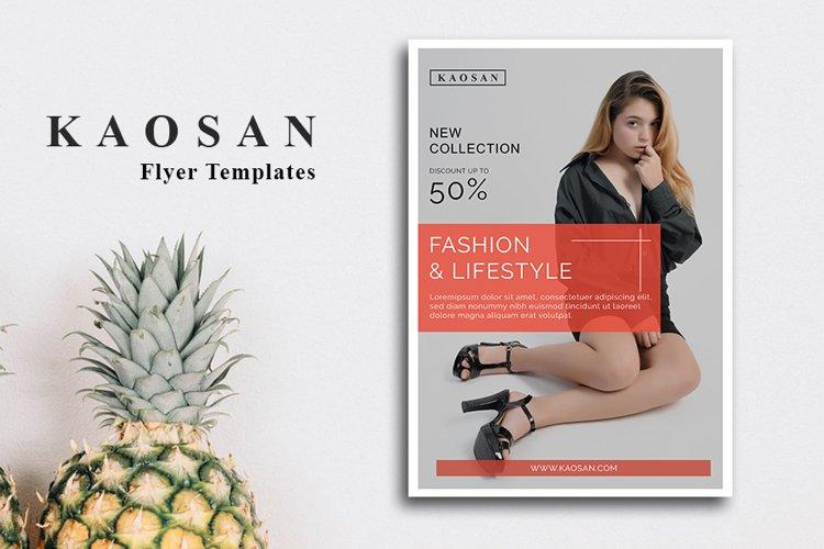 Fashion flyer template Vol 2