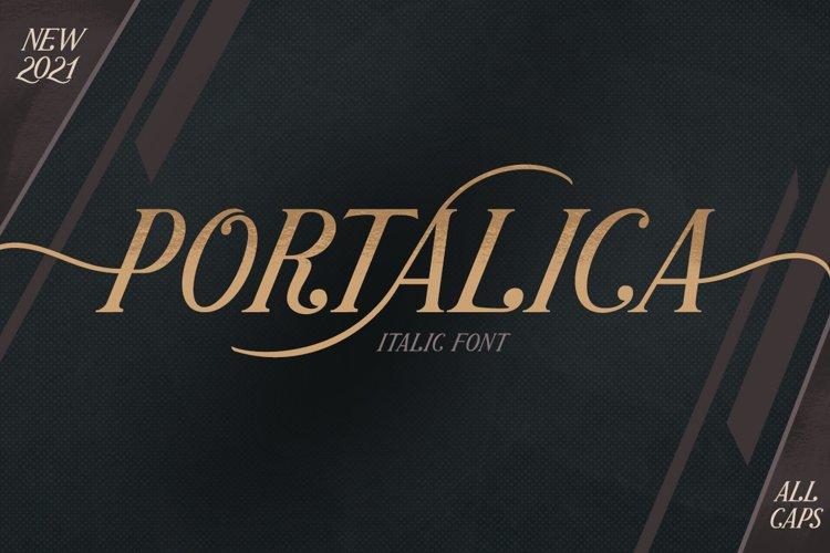 Portalica - Elegant Serif Font example image 1