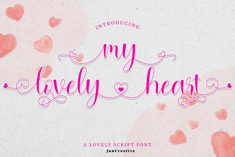 Mylovely Heart example image 1