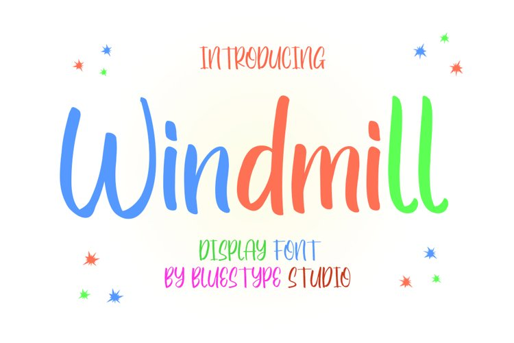 Windmill - Display Handwritten
