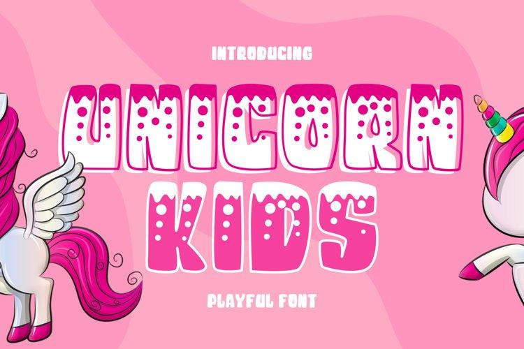 Unicorn Kids