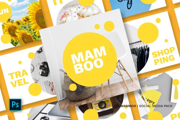 Mamboo Social Media Pack example image 1