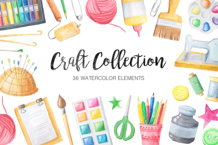 Watercolor Craft Collection  - Free Design of The Week Font